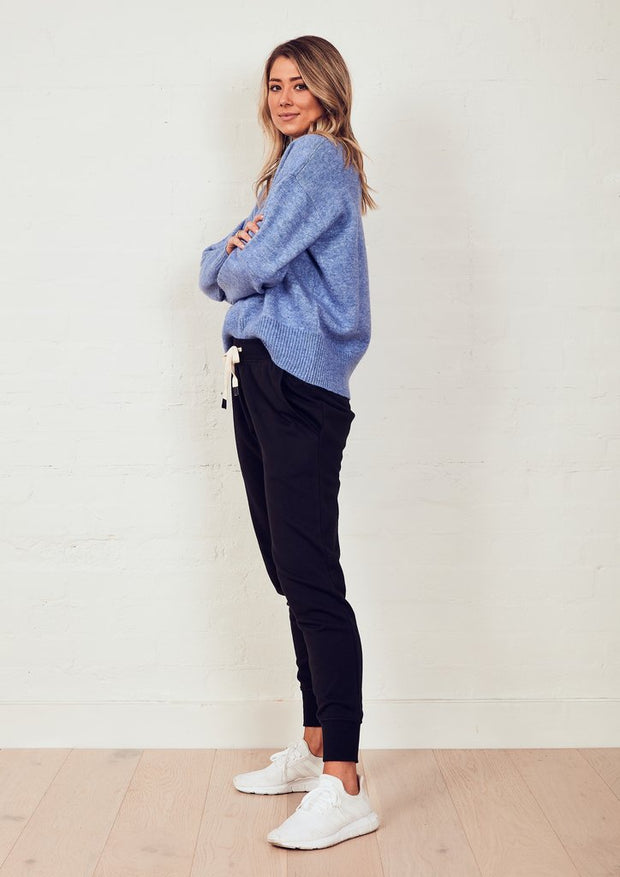 The Staple Knit Jumper - Blue