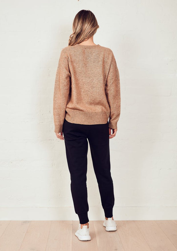 The Staple Knit Jumper - Stone