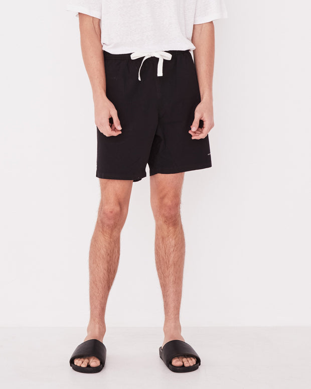 Mens Ocean Swim Short Black | Shop Assembly Label at IKON