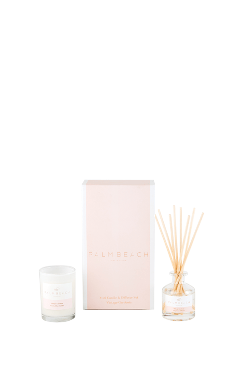 Mini Candle & Diffuser Pack - Vintage Gardenia | Shop Palm Beach at IKON in Arrowtown, NZ