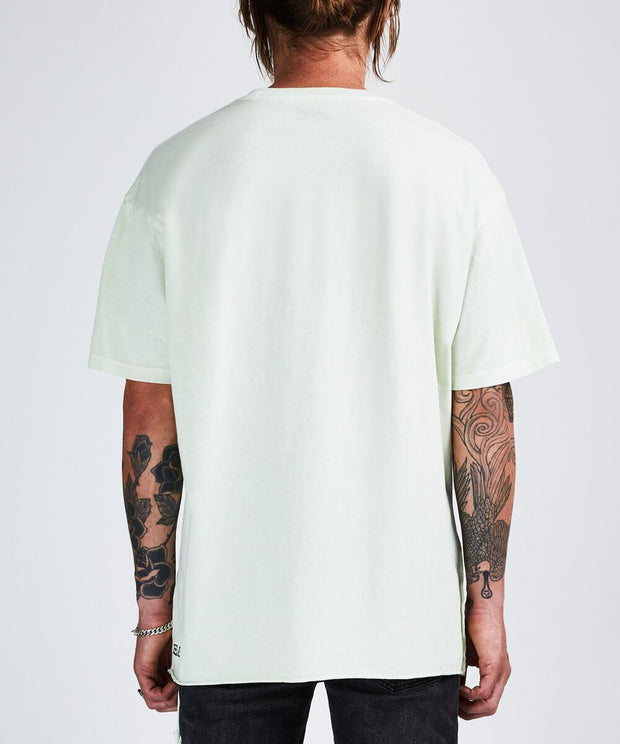 Ksubi Sign Of The Times SS Tee - Chlorine Green