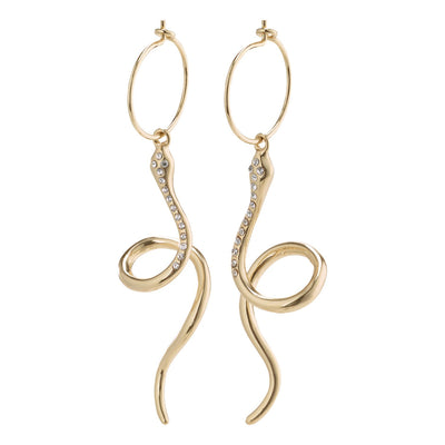 Sensitivity Earrings - Crystal-Gold| Shop Pilgrim Jewellery at IKON NZ