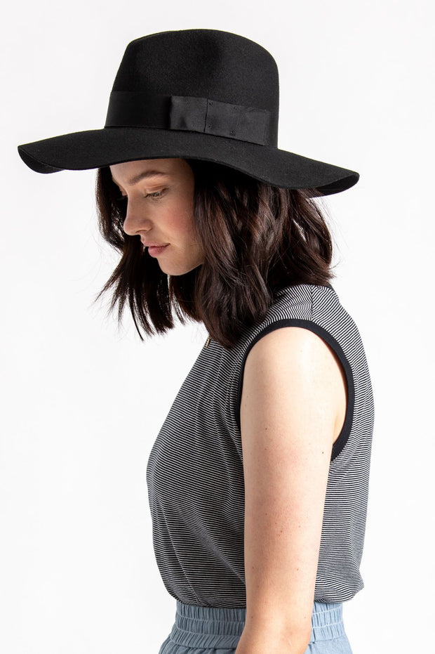 Brixton Piper Hat - Black