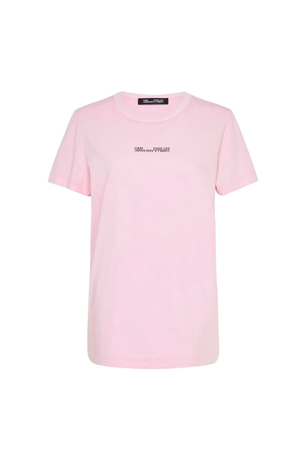 C&M Harvey Tee - Ice Pink