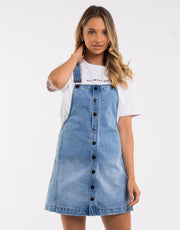 Madeline Denim Pinafore
