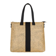Lexington Zip Tote Cheetah | shop Elms&King at IKON, Arrowtown, NZ