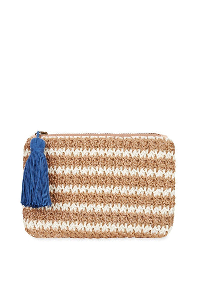 Tigerlily Woven Coin Purse - White | shop Tigerlily at IKON, Arrowtown, NZ