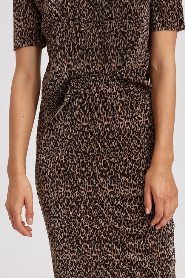 Saloon Skirt - Leopard