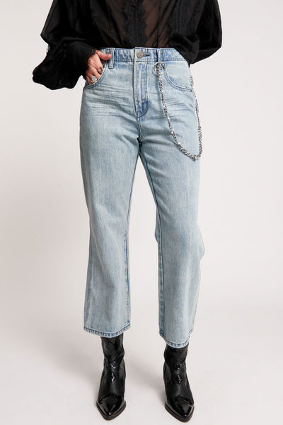 Chained Nomad Mid Waist Jeans | Shop OneTeaspoon at IKON NZ