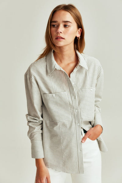 Savannah Stripe Shirt | Shop The Fifth Label at IKON Arrowtown NZ