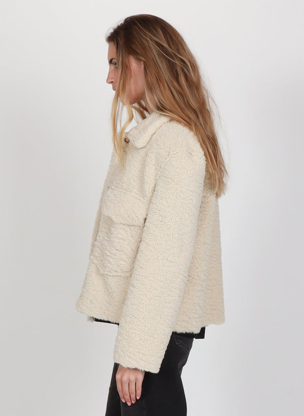 Sherpa Jacket - Natural Sheep