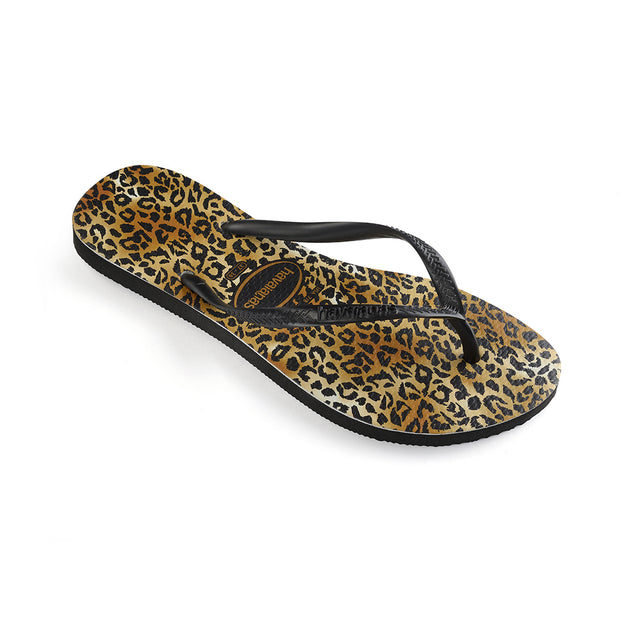 Slim Animals (Leopard) - Black/Gold