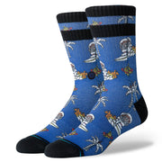 Stance Space Monkey Blue | Shop Stance Socks at IKON NZ