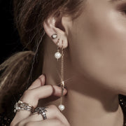 Revel Hoop Earring | Shop Silk and Steel Jewellery at IKON