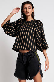 Starship Angel Top - Stripe | Shop OneTeaspoon at IKON NZ