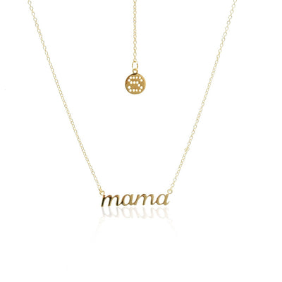 Mama Necklace - Gold