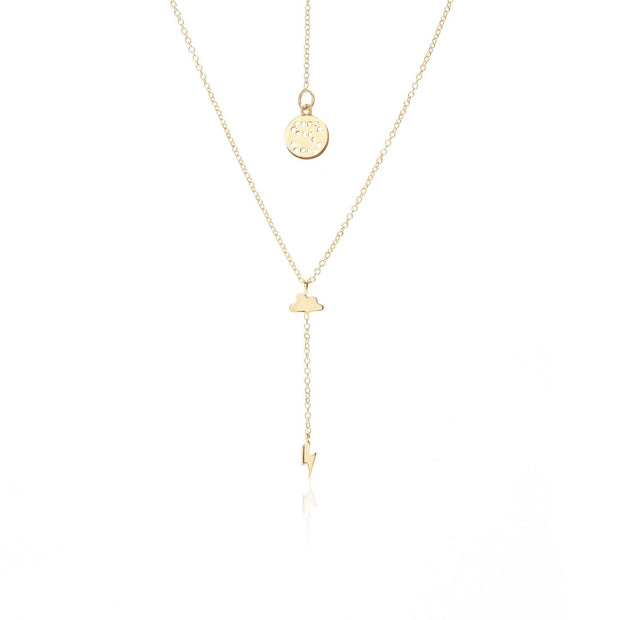 Storm Necklace Gold