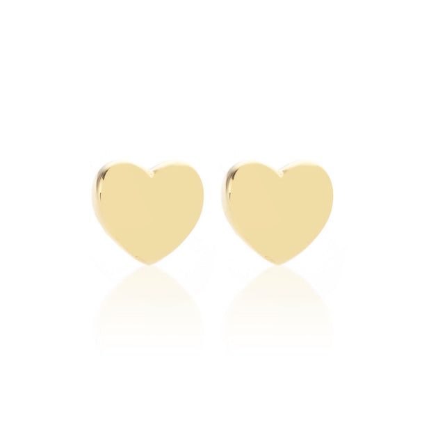 Sweetheart Stud - Gold | Shop Silk and Steel Jewellery at IKON