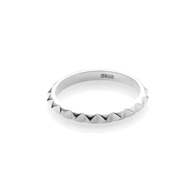 Patiently Ring - Silver shop online or in store at IKON