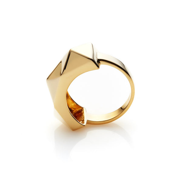 Awaiting Ring - Gold shop online or in store at IKON