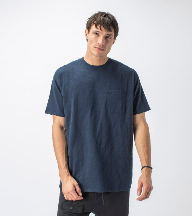 Zanerobe Slub Box Pocket Tee Washed Ink