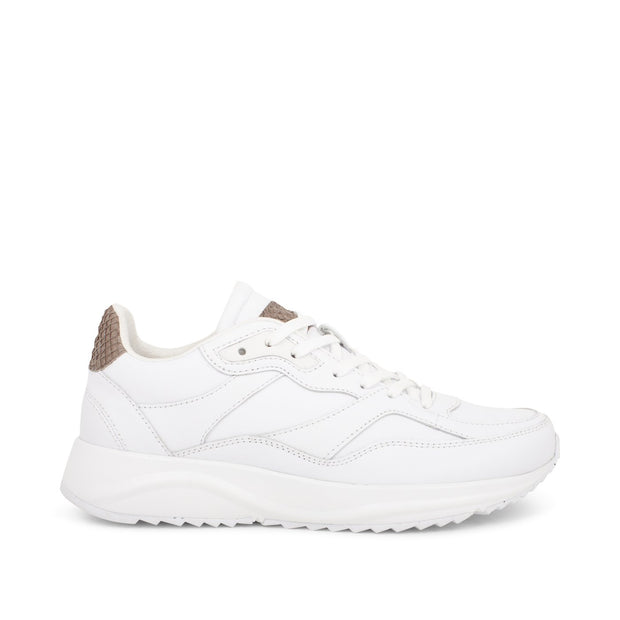 Woden Sophie Leather - Bright White |Shop Woden at IKON Arrowtown NZ