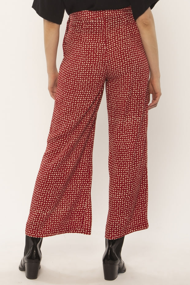 Sorrento Woven Pant - Fig
