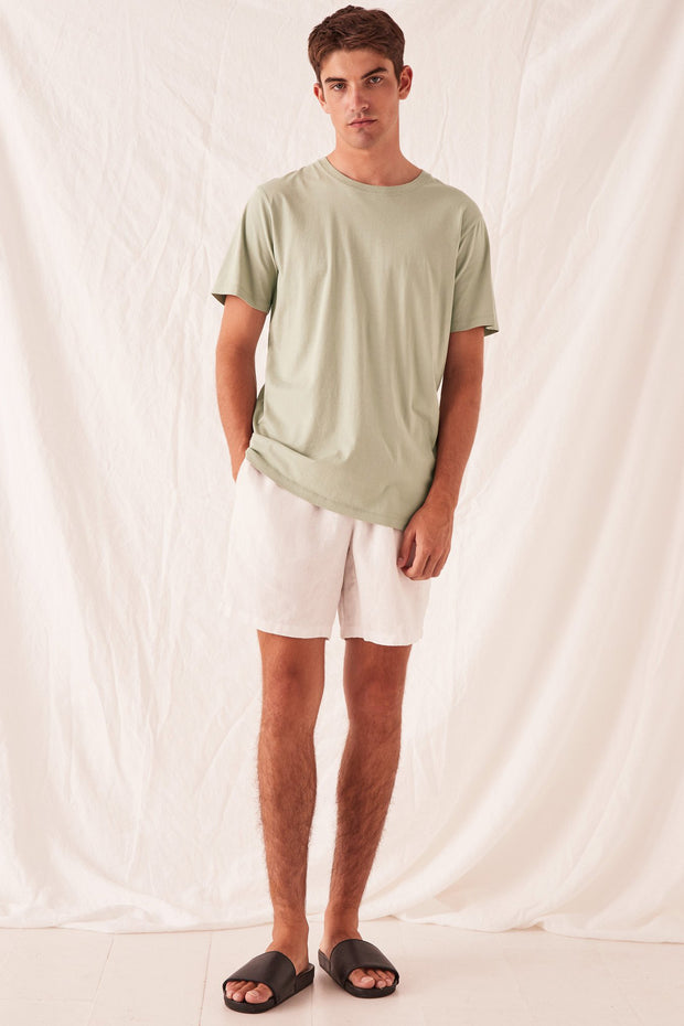 Mens Standard Tee - Soft Green | Shop Assembly Label at IKON