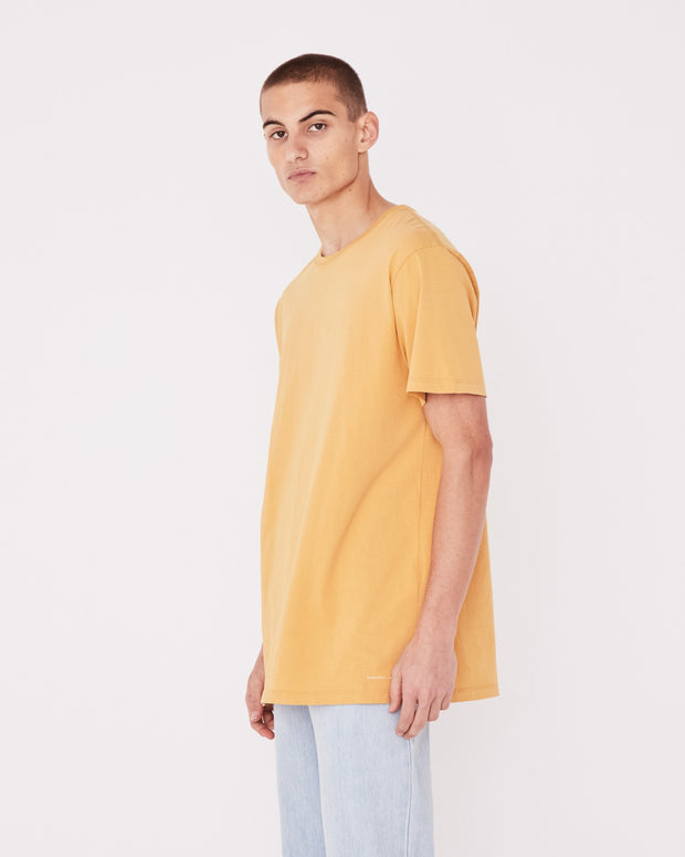 Mens Standard Tee - Amber | shop Assembly Label at IKON, Arrowtown, NZ