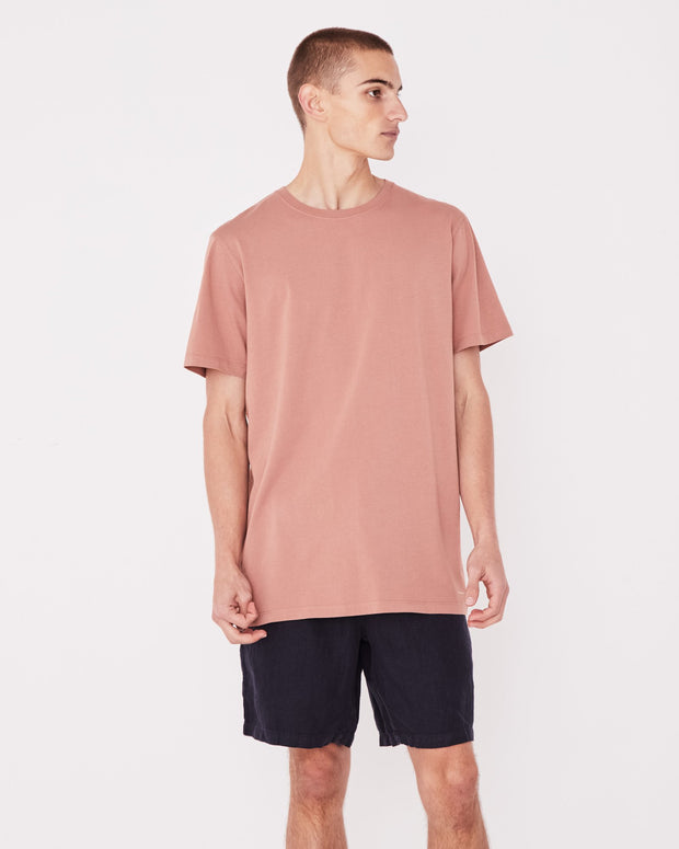 Mens Standard Tee Cameo Pink | Shop Assembly Label at IKON