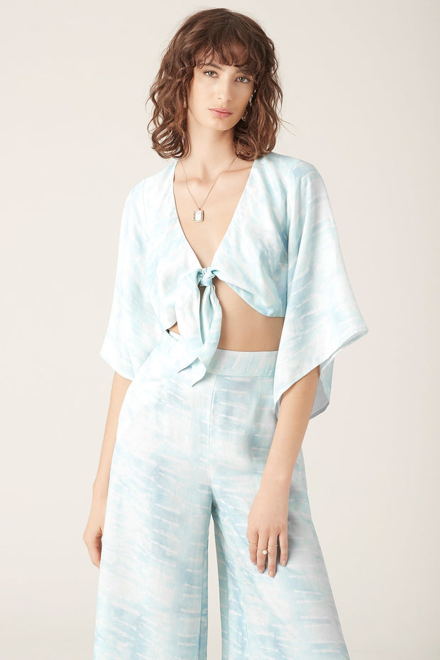 Tigerlily Tigerlily Saras Top Blue | Shop Tigerlily at IKON NZ