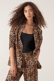 Tigerlily Divya Jacket Leopard | Shop Tigerlily at IKON NZ