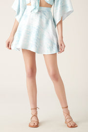 Tigerlily Saras Mini Skirt - Blue