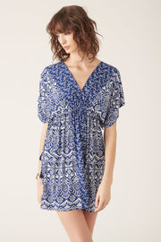 Tigerlily Channi Mumu Indigo | Shop Tigerlily at IKON NZ