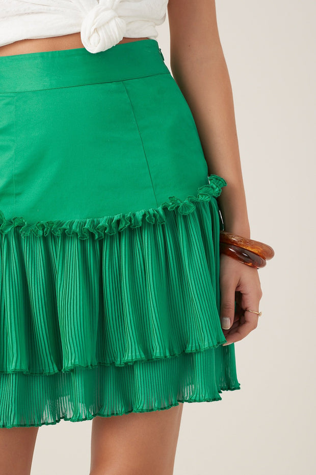 Tigerlily Ronette Skirt - Green