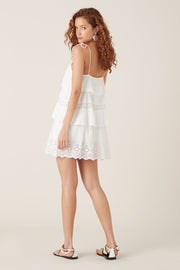 Tigerlily Elati Short Dress - White
