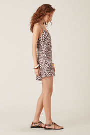 Tigerlily Onari Mini Dress - Leopard