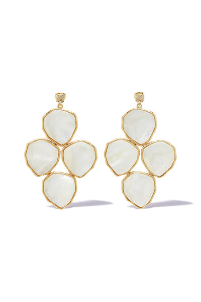 Momi Statement Earring - Pearl | shop Tigerlily at IKON, Arrowtown, NZ
