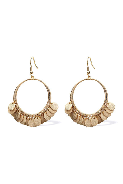 Polu Hoop Earrings - Opal | shop Tigerlily at IKON, Arrowtown, NZ