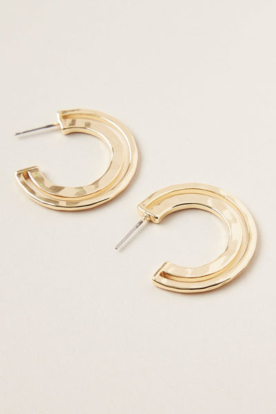 Ruchi Small Hoop Earring - Gold | Shop Tigerlily at IKON NZ