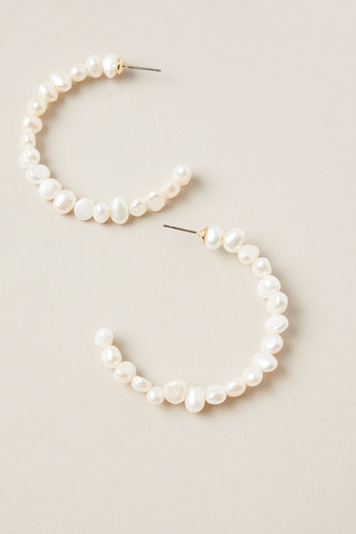 Pannu Hoop Pearl Earring | Shop Tigerlily at IKON NZ