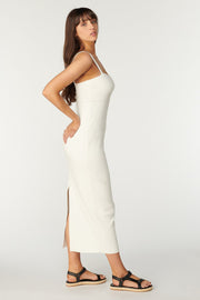 Tigerlily Essential Pacha Midi Dress - Ivory