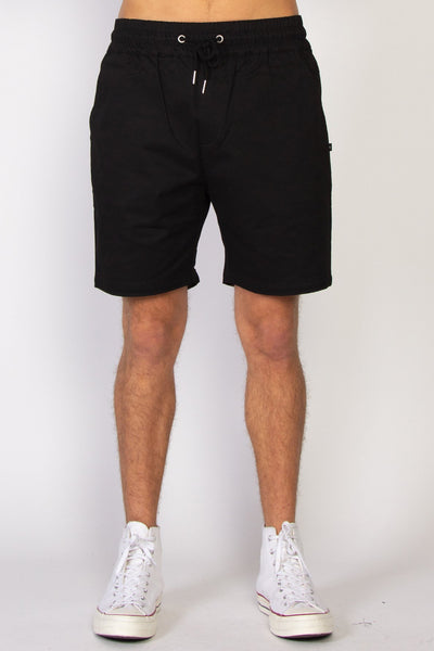 Mens Traveller Short - Black | Shop Federation online at IKON NZ