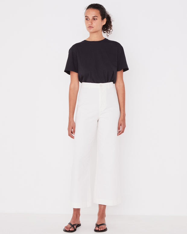 Womens Tala Canvas Pant Vintage White | Shop Assembly Label at IKON