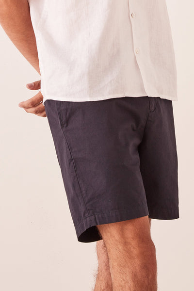 Mens The Chino Short - True Navy | Shop Assembly Label at IKON