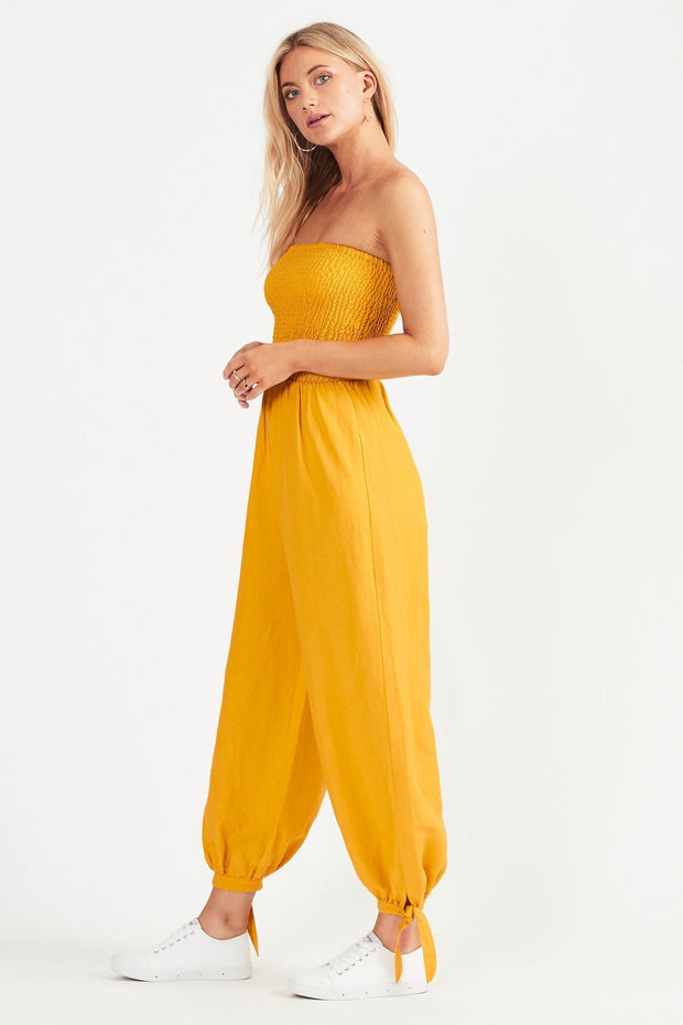 Tigerlily Tansy Jumpsuit - Marigold