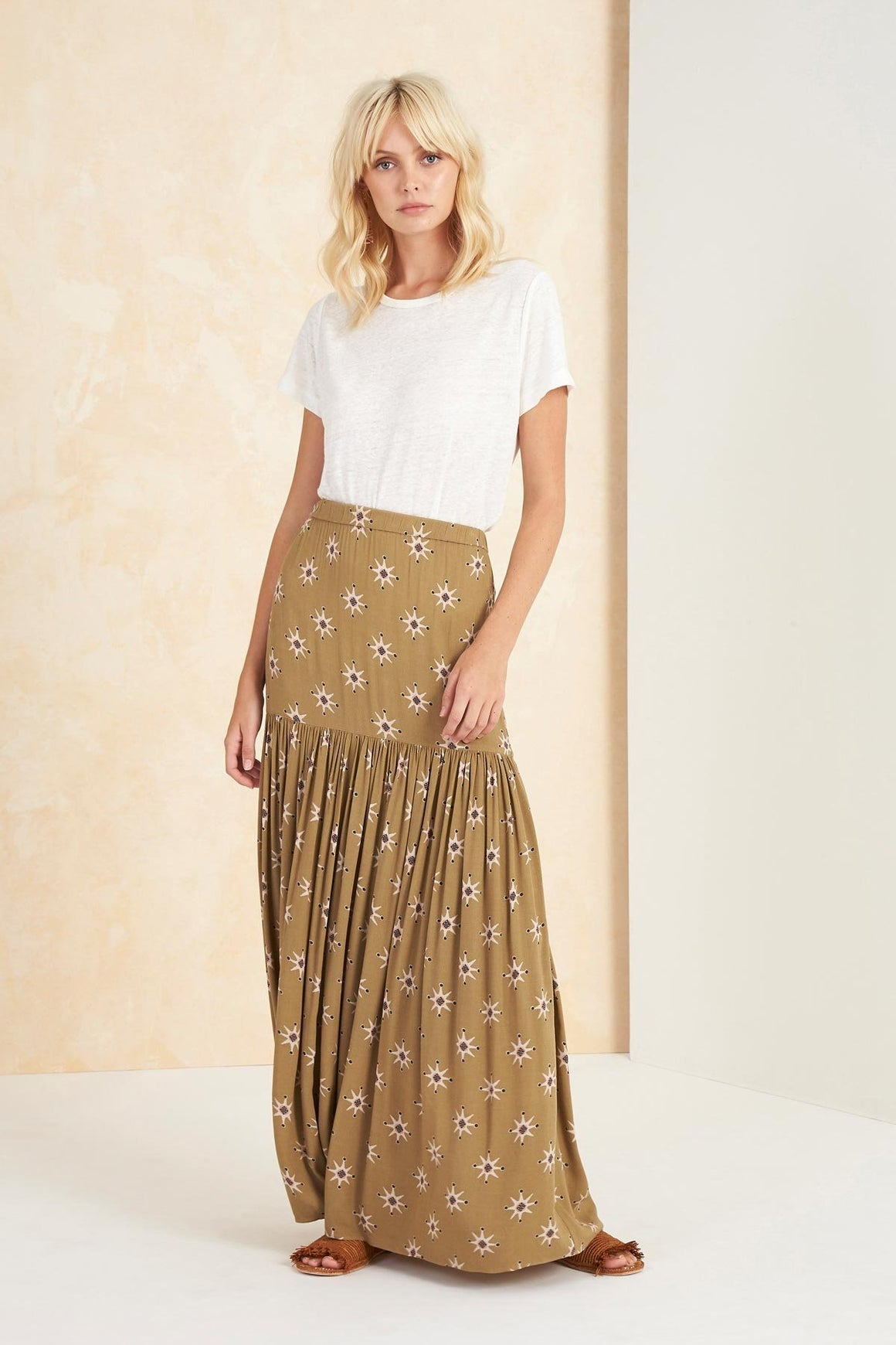 Tigerlily Soraya Skirt Olive | Shop Tigerlily Online at IKON NZ