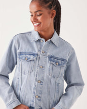 Tome Denim Jacket - Pacific Blue