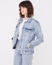 Womens Tome Denim Jacket Stone Blue | Shop Assembly Label at IKON NZ