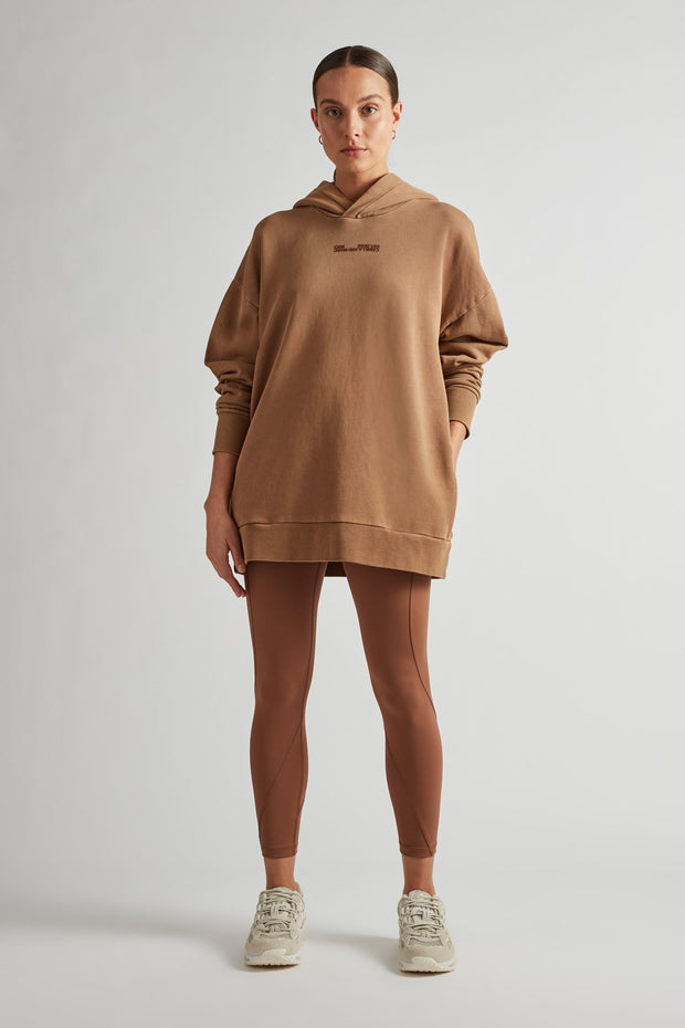 C&M Turner Oversized Hoodie - Rust | Shop C&M Camilla and Marc at IKON NZ